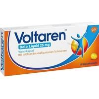 GlaxoSmithKline Voltaren Dolo Liquid 25 mg Weichkapseln