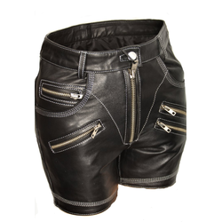 Leder-Short ECHTLEDER sexy Hot Pants