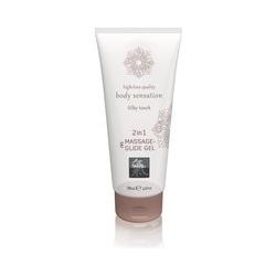"""Massage- und Gleitgel """"2in1 Silky Touch"""", 200 ml"""