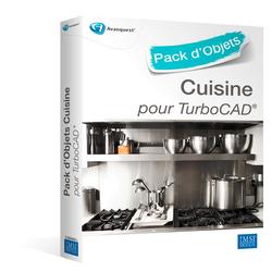 Pack d'objets 3D pour TurboCAD : Cuisine, Français