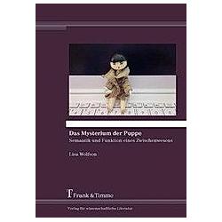 Das Mysterium der Puppe. Lisa Wolfson  - Buch