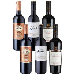 6er-Probierpaket Merlot - Weinpakete