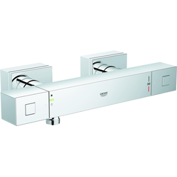 Grohe Thermostat-Brausebatterie GROHTHERM CUBE DN 15 chrom