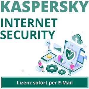 Kaspersky Internet Security 2020 2021 für 1,3,5 oder 10 Geräte 1 Jahr EMAIL WOW