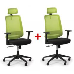 Bürostuhl rich 1 + 1 gratis, grün