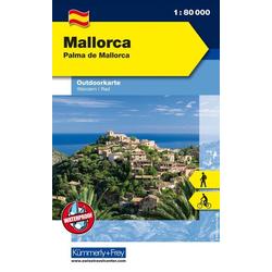 KuF Mallorca Palma de Mallorca Outdoorkarte 1 : 80.000