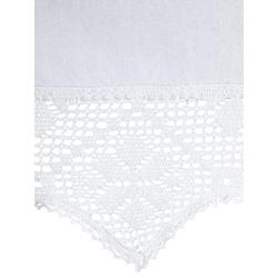 Querbehang weiß ca. 30/125 cm