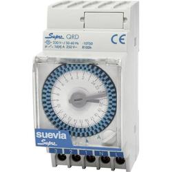 Suevia SUPRA QRD Hutschienen-Zeitschaltuhr analog 230 V/AC 16 A/250V