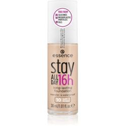 Essence Stay ALL DAY 16h Wasserbeständiges Make-up Farbton 10 Soft Beige 30 ml