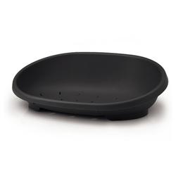 Nobby Kunststoff Bett Snooze schwarz für Hunde
