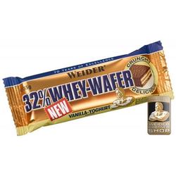 Weider 32% Whey Wafer 24x Riegel (Geschmack: Stracciatella)