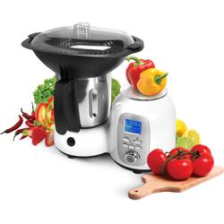 Efbe-Schott Küchenmaschine mit Kochfunktion SC HA 1020, 1000 W, 2 l Schüssel weiß