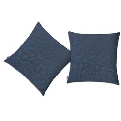 Neutex for you! Kissenhüllen Everest blau 38 cm x 38 cm