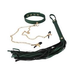 Peitsche plus Halsband