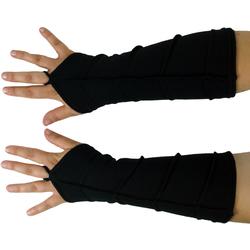 Guru-Shop Armstulpen Handstulpen - schwarz schwarz
