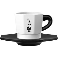 BIALETTI Espressotasse, (Set, 8 tlg.), 4 Tassen, Untertassen weiß Becher Tassen Geschirr, Porzellan Tischaccessoires Haushaltswaren Espressotasse