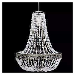 vidaXL Kronleuchter vidaXL Kristall-Kronleuchter 36,5 x 46 cm