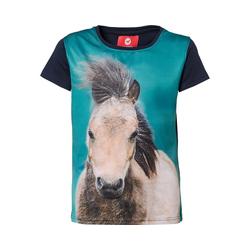 RED HORSE T-Shirt T-Shirt HORSY für Mädchen blau 176
