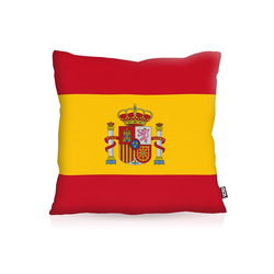 Kissenbezug, VOID, Spanien Spain Flagge Fahne Fan Fussball EM WM 60 cm x 60 cm