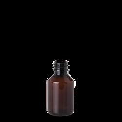 100 ml Pharma Veral - braun - PP 28 Gewinde