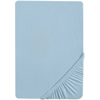 Castell Spannbettlaken Jersey 140 x 200 - 160 x 200 cm blau