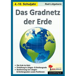 Das Gradnetz der Erde als Buch von Rudi Lütgeharm