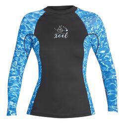 Xcel Women's - 6 OZ UV L/S TOP - Lycra - Damen - Water - Gr. L