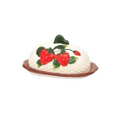 SIGRO Butterdose Dolomite Butterdose Fragola, Keramik, (2-tlg)