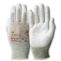 KCL Camapur® Comfort Antistatik 625 Schutzhandschuhe, antistatischer Schutzhandschuh, 1 Paar, Größe 6