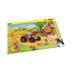 Haba Puzzle Rahmenpuzzle 25 Teile Landmaschinen, Puzzleteile