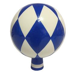 Dehner Dekoobjekt Rosenkugel Bayern, Ø 15 cm, Höhe 19 cm, Keramik