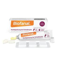 BIOFANAL Kombipackung b.Scheidenpilz Vagtab.+Salbe 1 P