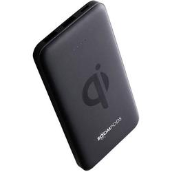 Boompods Induktions-Powerbank 1000mA Powerboom qi WP10 PBQBLK 10000 mAh Ausgänge Induktionslade-Sta