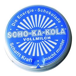 SCHO-KA-KOLA Die Energie-Schokolade VOLLMILCH 100 g