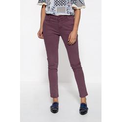 ATT Jeans Slim-fit-Jeans Valeria mit Schiebeknopf und Paspeltaschen rot 42