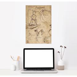 Posterlounge Wandbild, Magisches Tierwesen - Bowtruckle 61 cm x 91 cm