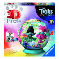 Ravensburger 3D-Puzzle Trolls World Tour Puzzle-Ball, 72 Puzzleteile