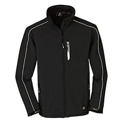 4PROTECT® Herren Softshelljacke OHIO schwarz Größe XL