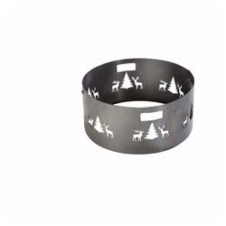 acerto® Feuerstelle Funkenschutzgitter für Feuerschale 55 cm