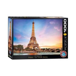 EUROGRAPHICS Puzzle Puzzle 1000 Teile-Paris Eiffelturm, Puzzleteile