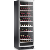 Dometic C125G Weinkühlschrank schwarz/edelstahl