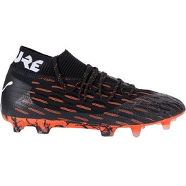 Puma Future 6.1 Netfit FG/AG black/white/shocking orange 39
