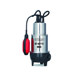 Abwasserpumpe mit Schneidw. BT4877K INOX