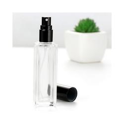 Gotui Parfümzerstäuber, 6 Stück 18ml Glassprühflasche Leer Sprühflasche für Parfümöle Ätherische