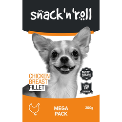 SNACK & ROLL Chicken Breast Fillet Hähnchenbrustfilet 200 g