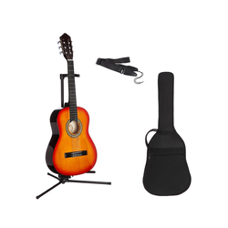 Konzertgitarre Konzertgitarren-Set 7/8 7/8 orange