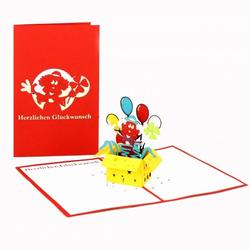 Colognecards Pop-Up Karte Clown
