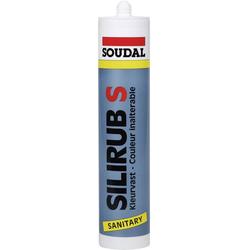 Soudal Silirub S Silikon Herstellerfarbe Schwarz 9533 300ml