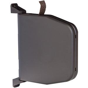 Gurtwickler Braun Aufputz mit Scharniersystem für Rolladen Gurt Aufschraubwickler schwenkbar Mini 14mm Gurtbreite für Rollladen Bayram® (Gurtwickler Braun ohne Gurt)