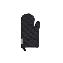 Ross Grillhandschuh in schwarz mit Nadelstreifen